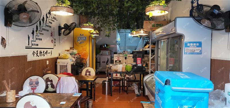W九龙坡华岩幸福公园商圈餐饮门面转让